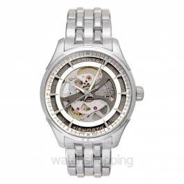 Jazzmaster Automatic Skeleton Dial Stainless Steel Men's Watch