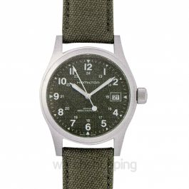 Khaki Field Green Dial Men's Watch 38mm