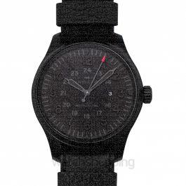 Khaki Field Manual-winding Black Dial Stainless steel Men's Watch