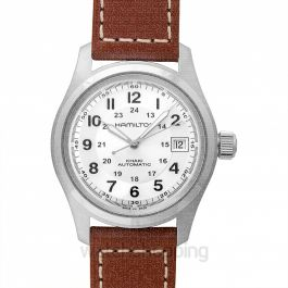 Khaki Field Automatic Silver Dial Stainless Steel Men's Watch