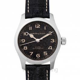 Khaki Field Automatic Grey Dial Stainless steel Men's Watch