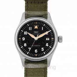 Pilot's Watch Automatic Spitfire Automatic Black Dial Men's Watch
