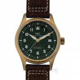 Pilot's Watch Automatic Spitfire Automatic Green Dial Men's Watch