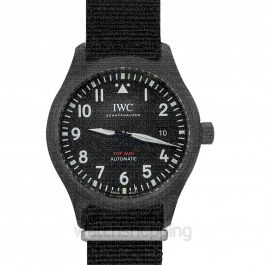 Pilot's Watch Automatic Top Gun Automatic Black Dial Men's Watch