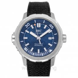 "Aquatimer Automatic Edition ""Expedition Jacques-Yves Cousteau"" Automatic Blue Dial Men's Watch"