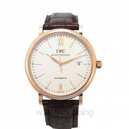 Portofino Automatic Silver Dial Unisex Watch