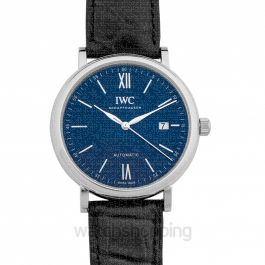 """Portofino Automatic Edition """"150 Years"""" Automatic Blue Dial Unisex Watch"""