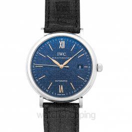 Portofino Automatic Blue Dial Men's Watch