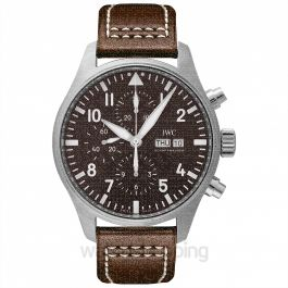 "Pilot's Watch Chronograph Edition ""Antoine De Saint Exupéry"" Automatic Brown Dial Men's Watch"