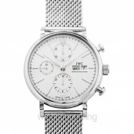 Portofino Chronograph Automatic Silver Dial Men's Watch
