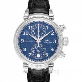 """Da Vinci Chronograph Edition """"Laureus Sport for Good Foundation"""" Automatic Blue Dial Men's Watch"""
