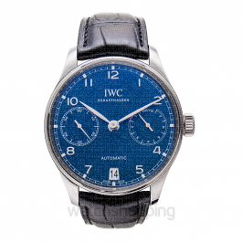 Portugieser Automatic Blue Dial Men's Watch