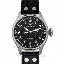 Big Pilot's Watch Automatic Black Dial Men's Watch