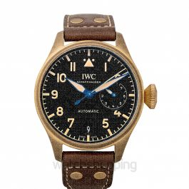 Big Pilot's Watch Heritage Limited Edition Automatic Black Dial Men's Watch