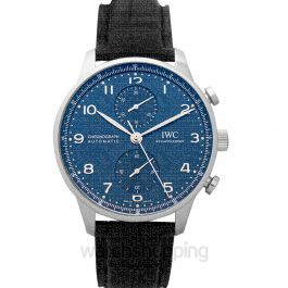 Portugieser Automatic Chronograph Blue Dial Men's Watch
