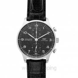Portugieser Automatic Chronograph Black Dial Men's Watch