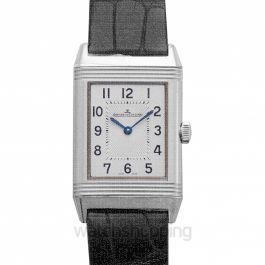Reverso Classic Medium Thin Manual-winding Silver Dial Men's Watch