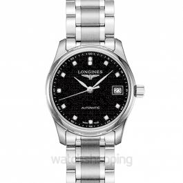 Master Collection Automatic Black Dial Ladies Watch