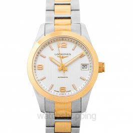 Conquest ClassIc Automatic Silver Dial Ladies Watch