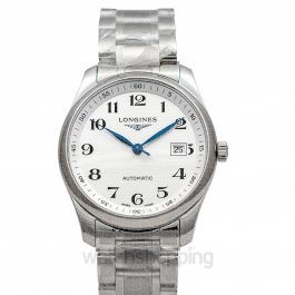 Master Collection Automatic Silver Dial Stainless Steel Men's Watch