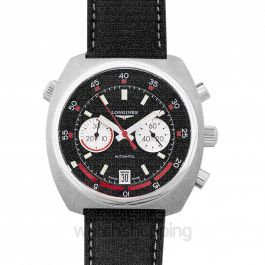 Heritage Diver Automatic Black Dial Chronograph Men's Watch