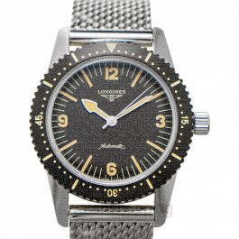 Heritage Skin Diver Automatic Black Dial Men's Watch