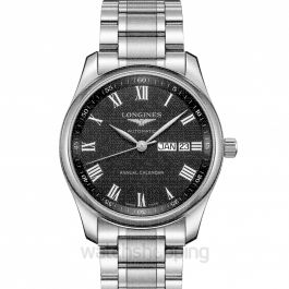 Master Collection Automatic Black Dial Men's Watch