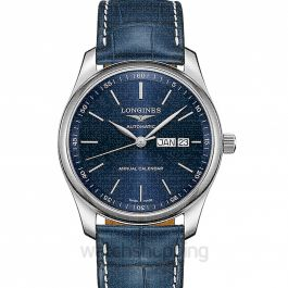 Master Collection Automatic Blue Dial Men's Watch