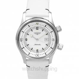Heritage Legend Diver Watch Automatic White Mother of Pearl Dial Unisex Watch