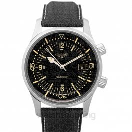 Heritage Legend Diver Automatic Black Dial Men's Watch