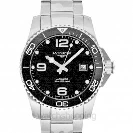 Hydroconquest Automatic Black Dial Men's Watch