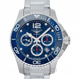 HydroConquest Automatic Blue Dial Chronograph Men's Watch