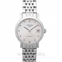The Longines Elegant Collection Automatic Diamonds Ladies Watch