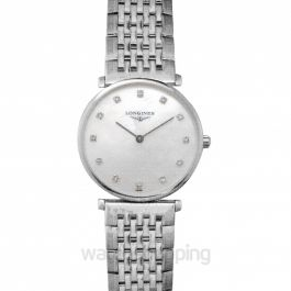 La Grande Classique de Longines Quartz White Dial Ladies Watch