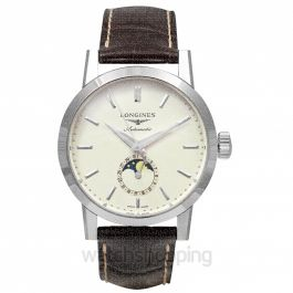 Heritage Classic Automatic Beige Dial Mens Watch