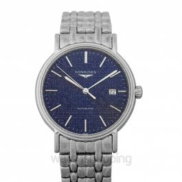 Presence Automatic Blue Dial Men's Watch