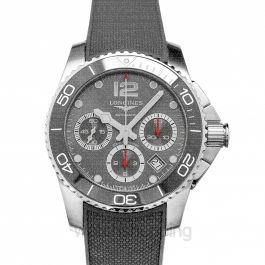 HydroConquest Automatic Grey Dial Chronograph Men's Watch