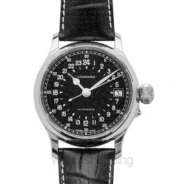HerItage Twenty-Four Hours Automatic Black Dial Men's Watch