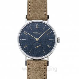 Tangente Midnight Blue Manual-winding Blue Dial 35 mm Unisex Watch