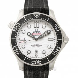 Seamaster Automatic White Dial Men's Watch