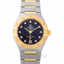 Constellation Automatic Blue Dial Women's Watch