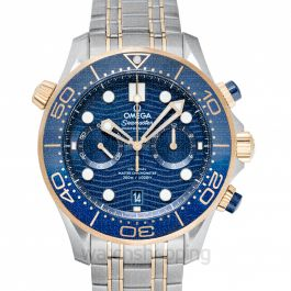 Seamaster Automatic Blue Dial Men's Watch