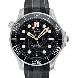 Seamaster Co-Axial Master Chronometer 42 mm James Bond Automatic Black Dial Men's Watch