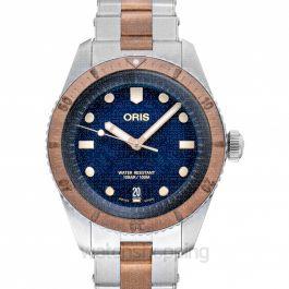 Divers Sixty-Five Automatic Blue Dial Men's Watch
