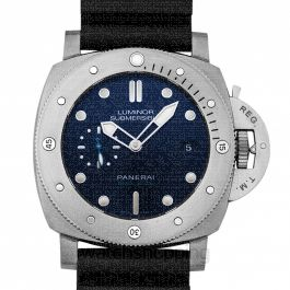 Luminor Submersible BMG-TECH Automatic Blue Dial 47 mm Men's Watch