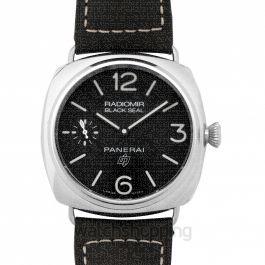 Radiomir Black Seal Logo Manual-winding Black Dial 45 mm Men's Watch