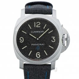 Luminor Manual-winding Black Dial Men's Watch