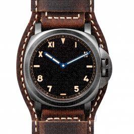 Luminor California 8 Days DLC Manual-winding Black Dial 44 mm Men's Watch