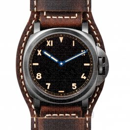Luminor California 8 Days DLC Manual-winding Black Dial 44 mm Men's Watch