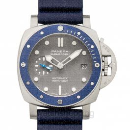 Submersible 42 mm 3 Days Automatic Grey Dial Men's Watch
